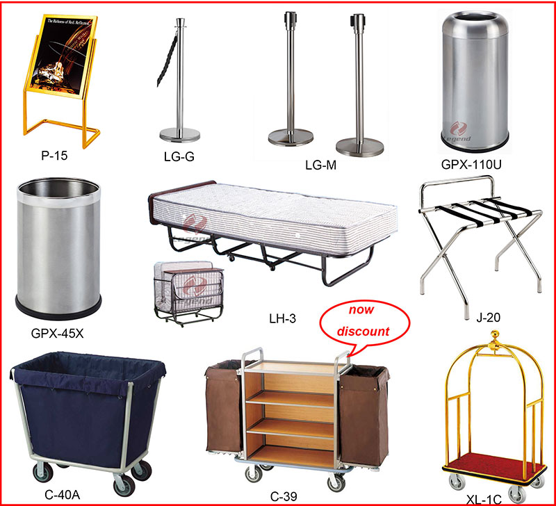 bellman's cart,queue stanchion,ashtray garbage bin,display sign stand,crowd control stand,railing stand,metal waste bin,luggage rack.jpg
