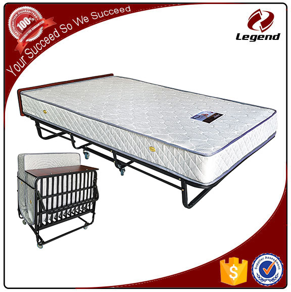 Cheap metal extra bed with wheels on sale