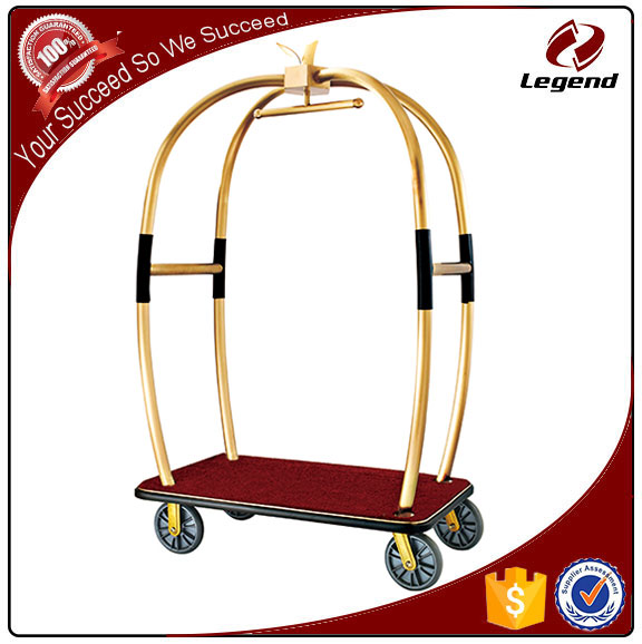 China manufacturer Modern concierge hotel trolley