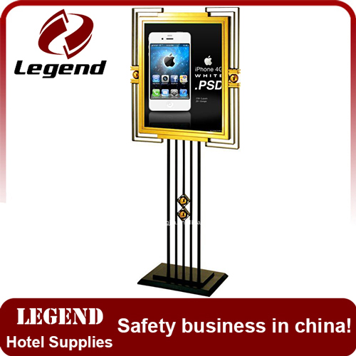 Hotel and restaurant equipment Menu Display Stand
