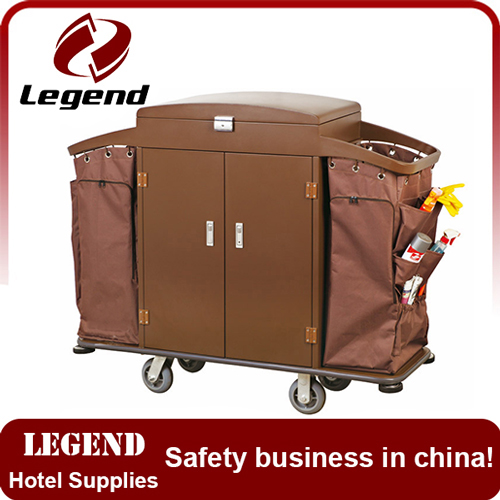 Hotel room service cart room service trolley housekeeping trolley
