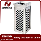 High Quality Star Recyclable Overall Metal hotel waste bin