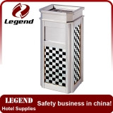 Hotel lobby high quality decorative waste bin