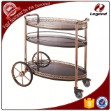 Multi-function Liquor hotel service trolley for restaurant
