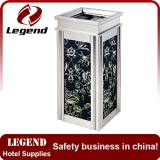 New design wholesale hotel unique trash cans