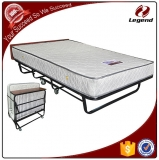 Space saving foldable hotel add bed for guest room