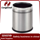 Stainless steel dust bin waste recycling bin