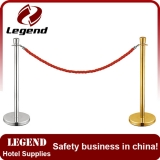 Top Chrome braid Rope post,event Stanchions,rope pole barrier
